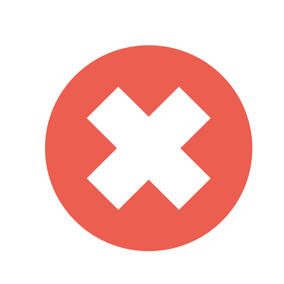 Icon - Cross (x)
